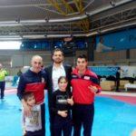Foto ricordo con il Campione Olimpico CARLO MOLFETTA.